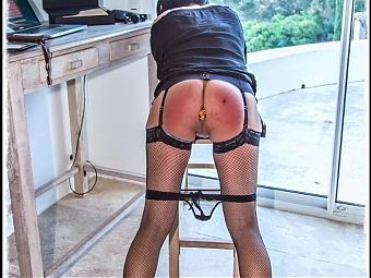Marina spanked and punished (Slideshow)