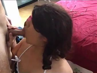 Asian Ladyboy cocksucker,ass fucked and get the cumshot